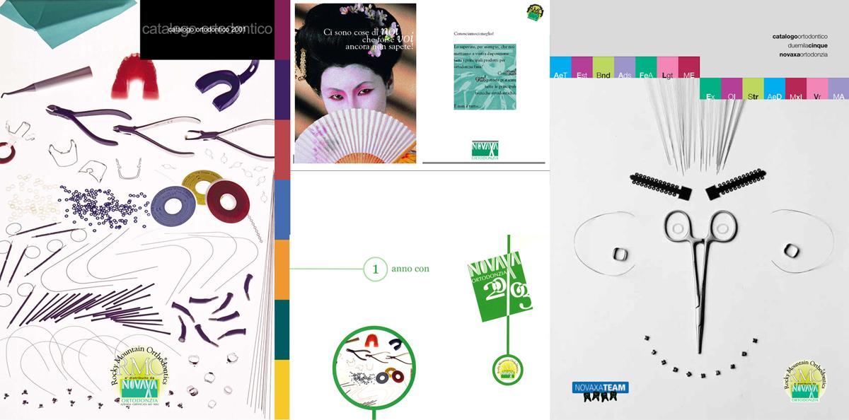 Visual design, Novaxa Ortodonzia, Milano