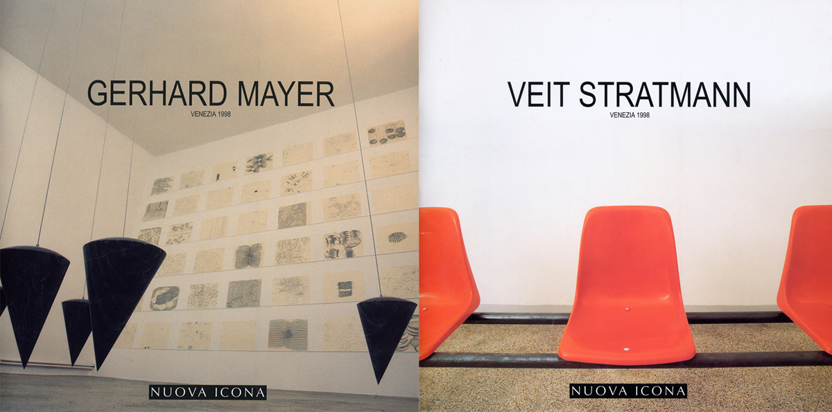 Gerhard Meyer, Veit Stratmann, catalogue series for Nuova Icona, Venezia, 1998