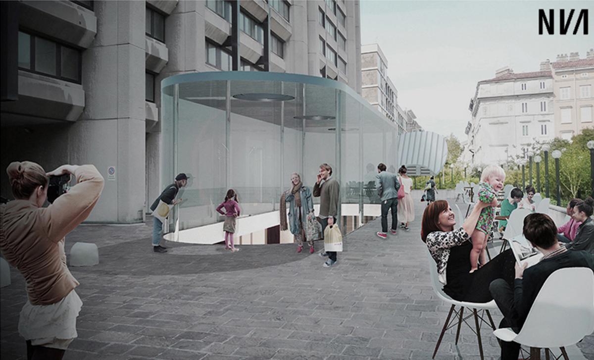 TA Architettura, progettazione architettonica ridisegno galleria commerciale Il Giulia / Architectural redesign project of the former shopping arcade Il Giulia, Trieste, 2016