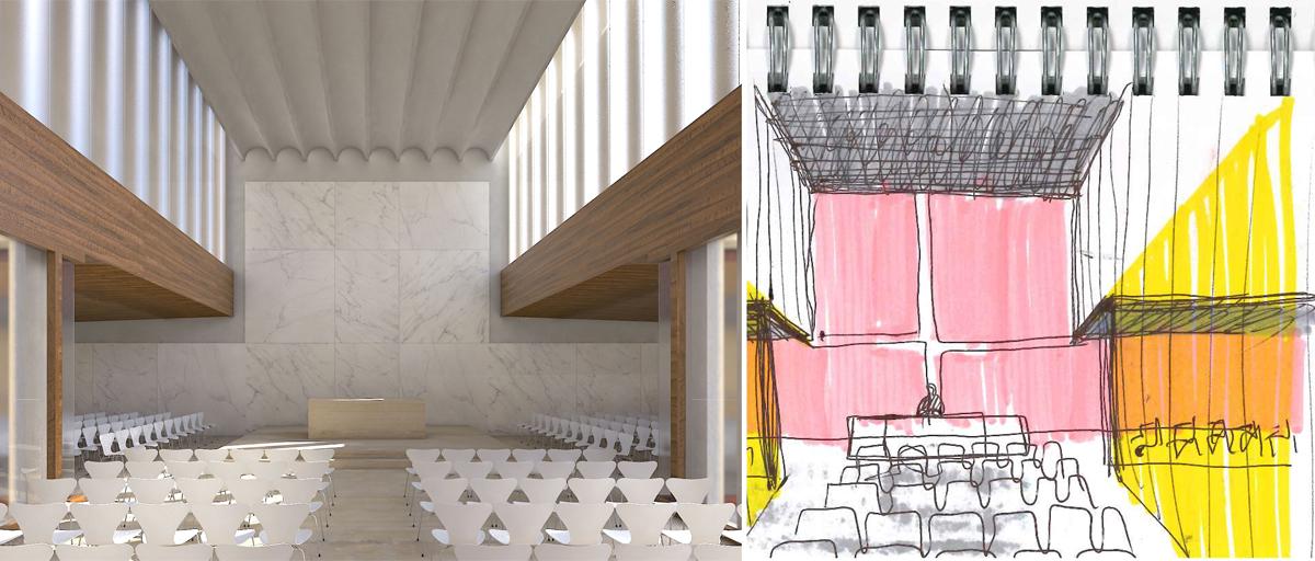 TA Architettura, progettazione alla scala urbana, progetto architettonico area ex Mercati Generali / urban scale architecture design project on the Wholesale Market Hall area, Roma, 2015
