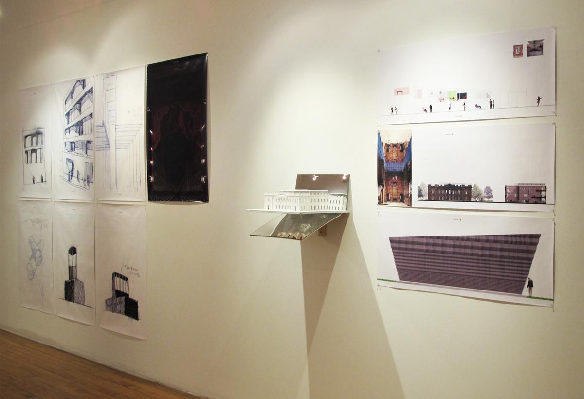 "Columbia University Teacher College, Macy Art Gallery, ""2000-2010 In Architecture"" New York 2010"